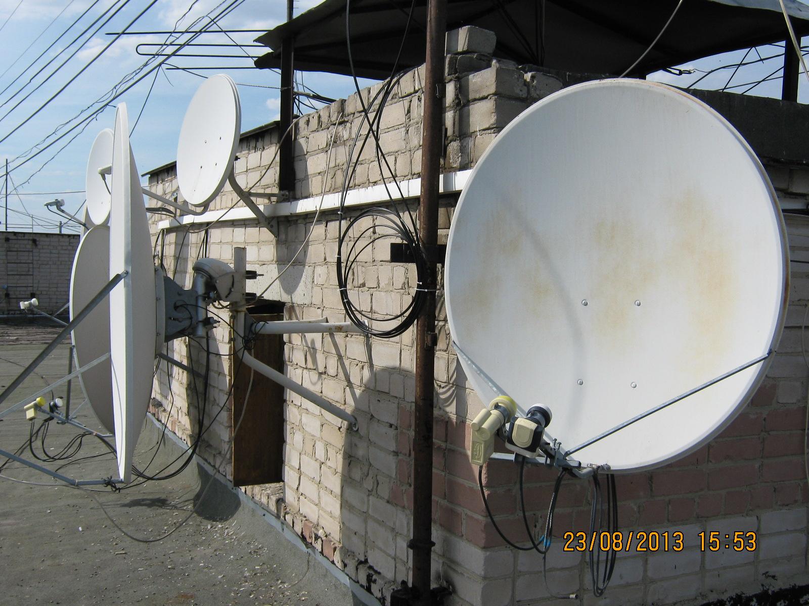 Настройка спутниковой антенны при помощи прибора Sat 78